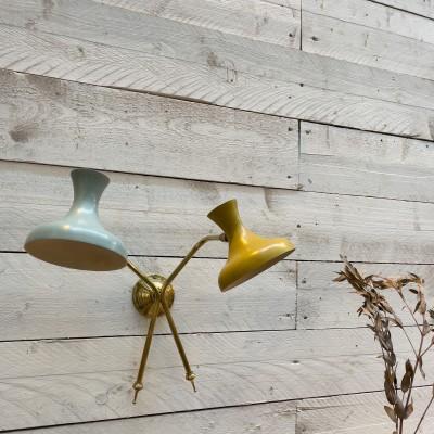 Italian design wall lamp 1950