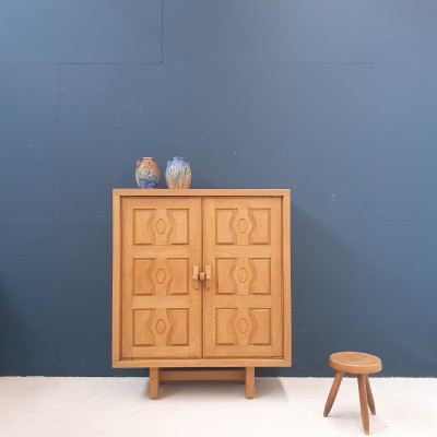 Midcentury  cabinet by GUILLERME and CHAMBRON