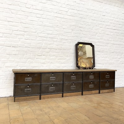 Industrial cabinet with flaps, ideal for TV or bench