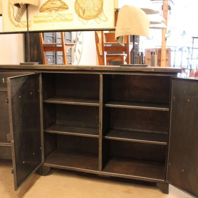 Industrial Sideboard 4 doors riveted