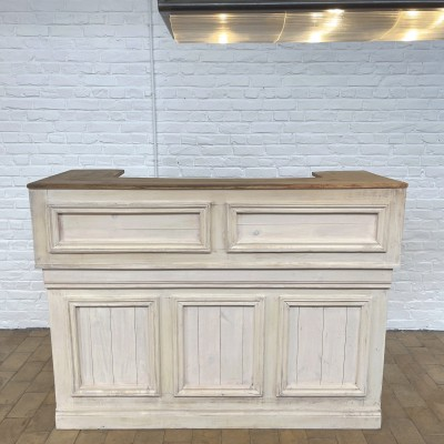 French former wooden counter shop