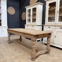 French Oak Monastery Table
