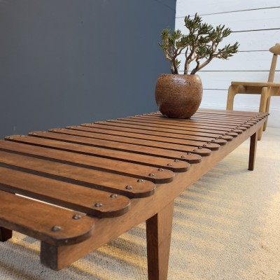 Modernist Bench / Coffee Table 1970
