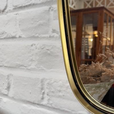 Asymmetric mirror design 50 style Gio Ponti