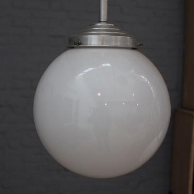 Série de lampes en opaline