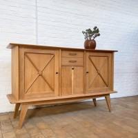 French oak sideboard 1950