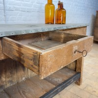 French florist's counter early twentieth