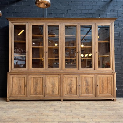 Large French Oak Library 1900
