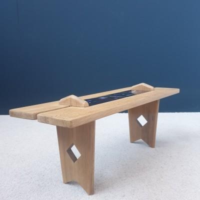GUILLERME et CHAMBRON coffee table circa 1950