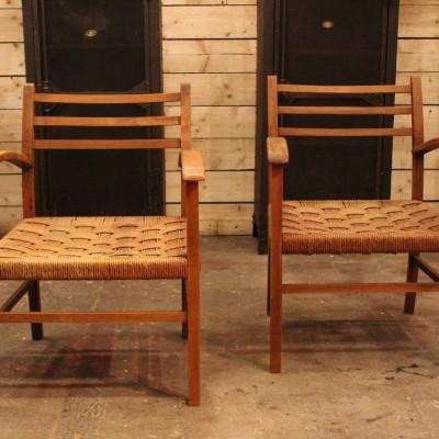 Pair of vintage armchairs 1960