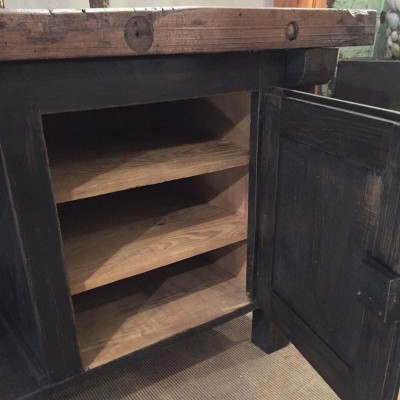 Antique painted wooden furniture