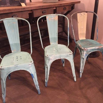 Set of 6 chairs Tolix