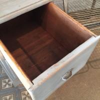 Wooden workshop cabinet 2 drawers