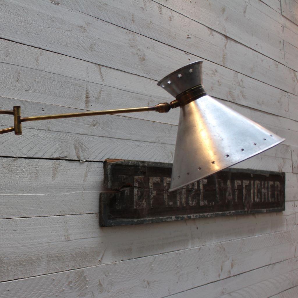 Wall lamp Lunel - René Mathieu 1950