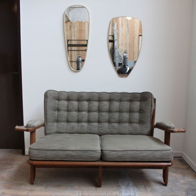 Armchairs and sofa Guillerme and Chambron