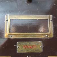 Ancien meuble à clapets Ronéo