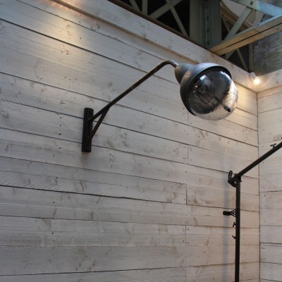 Old industrial wall lamp 1950 - Holophane