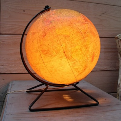 Luminous earth globe 1960