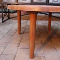 Ancienne table basse en teck