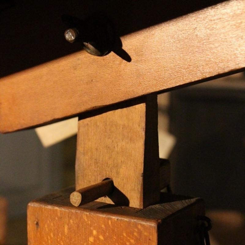 mobilier industriel ancienne table d 39 architecte. Black Bedroom Furniture Sets. Home Design Ideas
