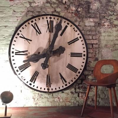 Ancien cadran d'horloge 1930