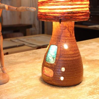 Lampe céramique 1950