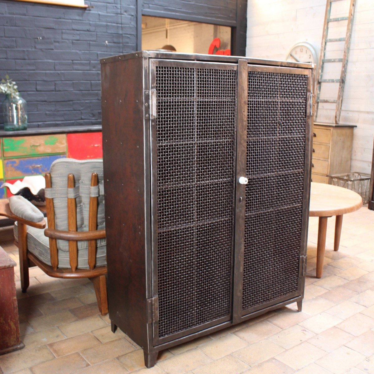 industrial cabinet 1930 furnitures. Black Bedroom Furniture Sets. Home Design Ideas