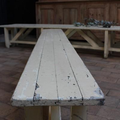 Ancien banc en bois