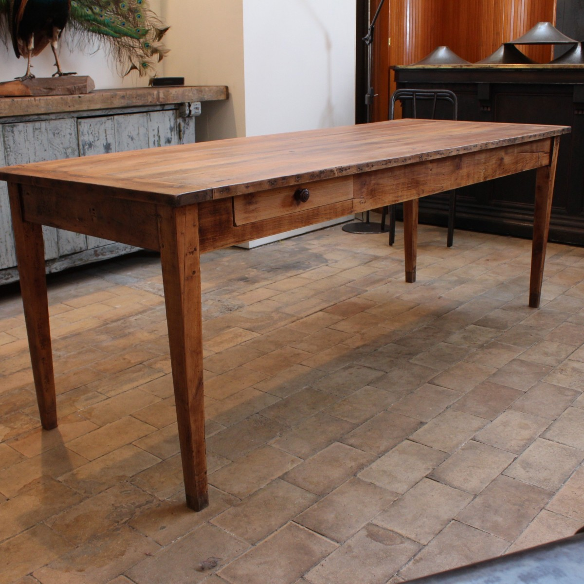 Wooden Farm Table - The farm table ma