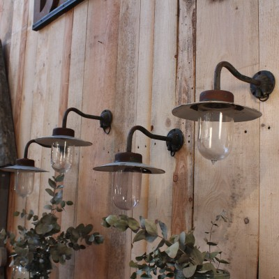 4 Industrial wall lamp