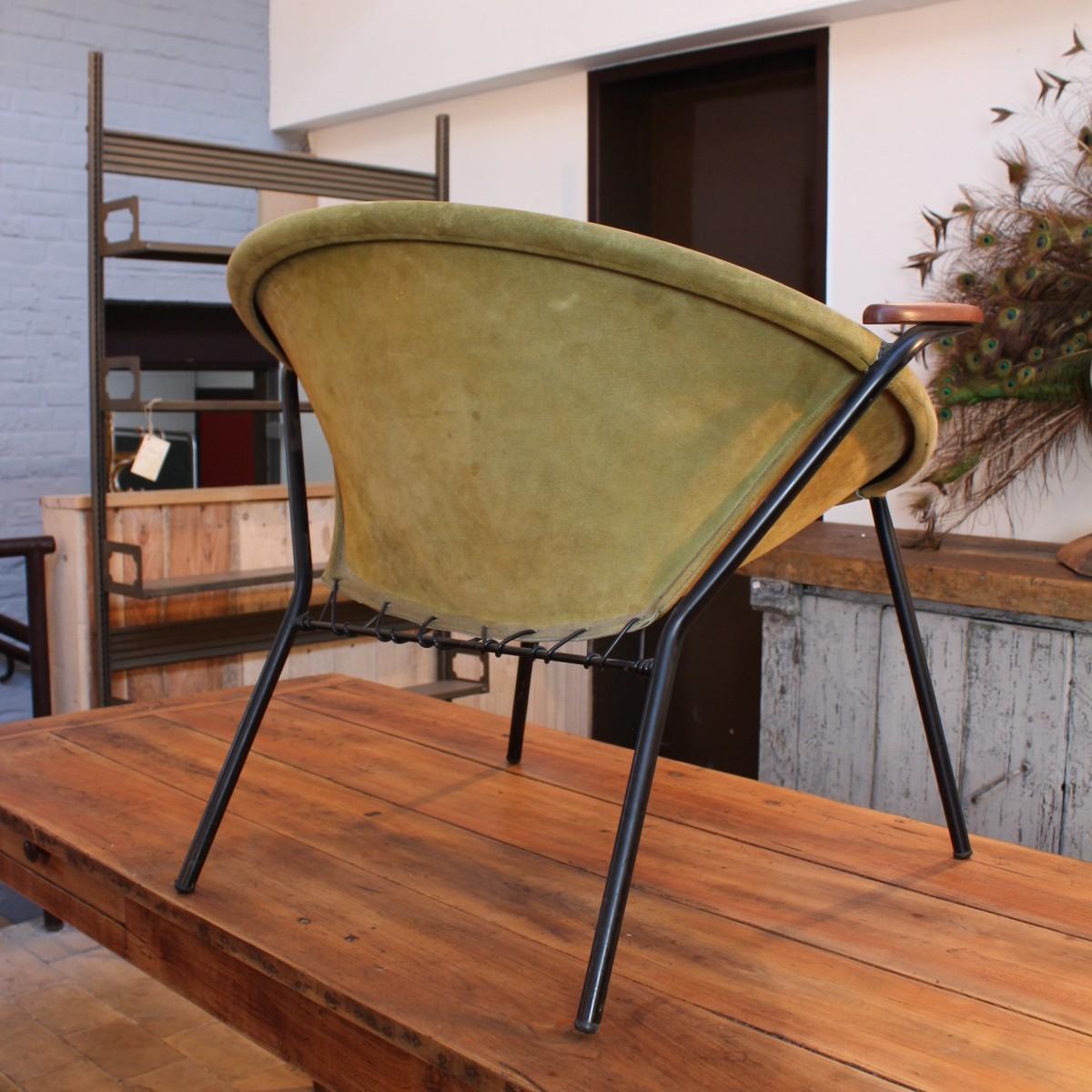 "Danish ""Balloon Chair"" armchairs by Hans OLSEN"