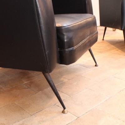 Paire de fauteuils 1960