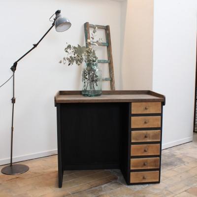 Wooden jeweler's workbench