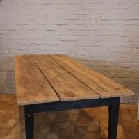 Ancienne table de ferme en bois