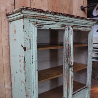 Wooden showcase