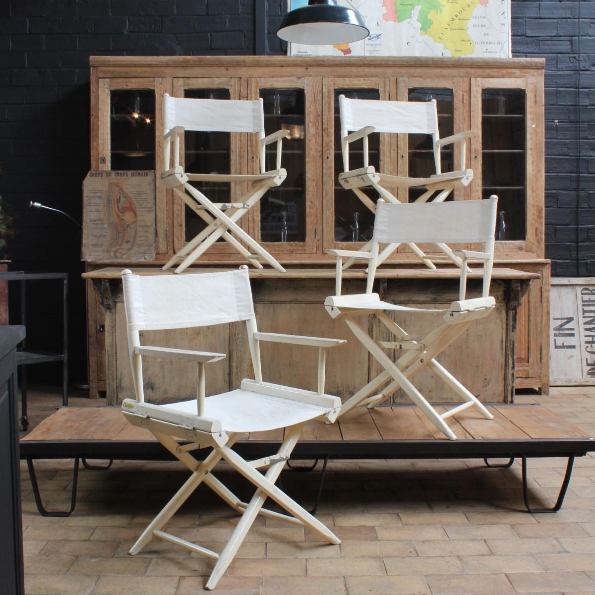 Série de 4 fauteuils 1960