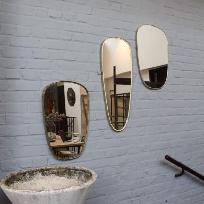 Série de miroirs asymétriques