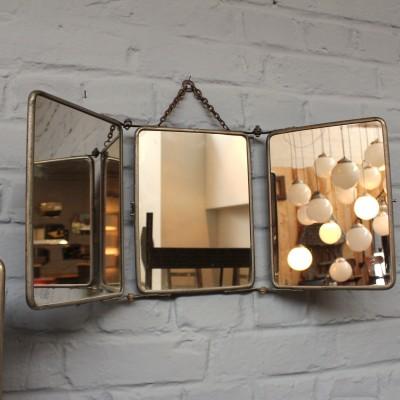 Série de miroirs de barbier 1950