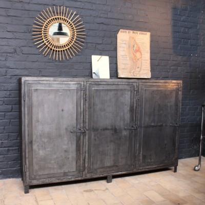 Former metal factory furniture