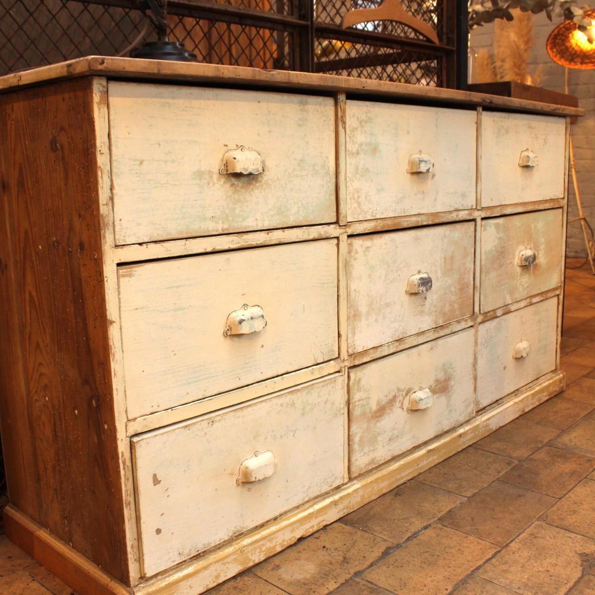 ancien meuble de m tier tiroirs