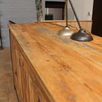 Meuble industriel metal et bois