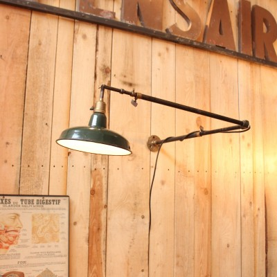 Factory wall lamp 1950