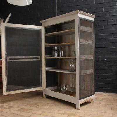 Former wooden wardrobe