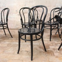 1 à 36 chaises de bistrot en bois
