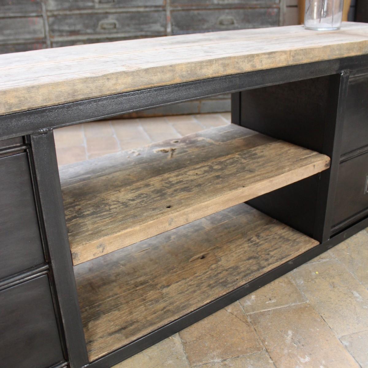 Ma Petite Fabrique De Meubles meuble industriel bas