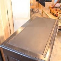 Ancien meuble de notaire en bois