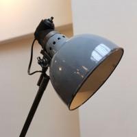 Ancienne lampe d'usine