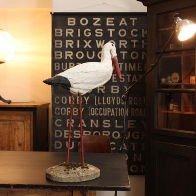 Concrete stork