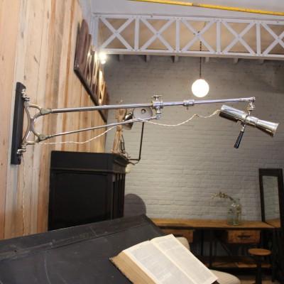 Ancienne lampe d'ophtalmologie