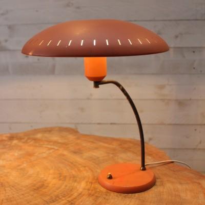Paire de lampes de bureau Louis Kalff 1950